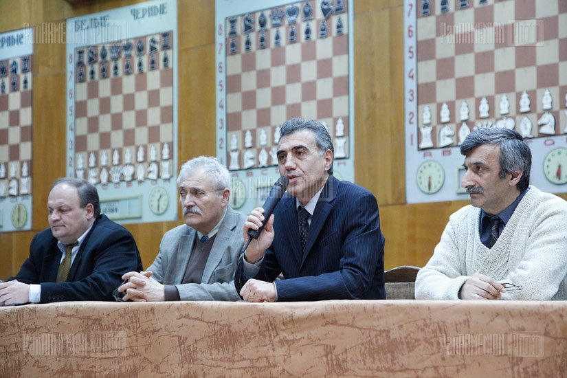 Armenia chess championship draw held Jan 11