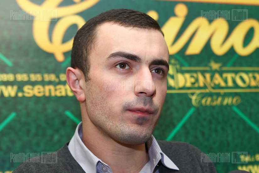 Press conference of Sargis Asatryan and Alik Eroyants