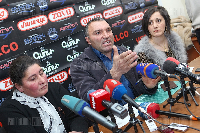Press conference on  Mataghis case