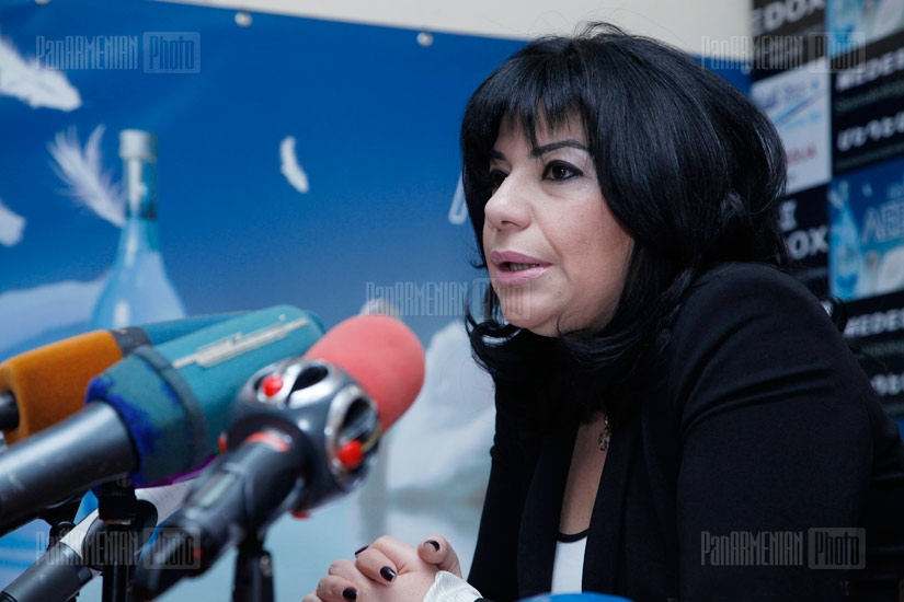 Press conference of the Director of Yerevan Ambulance Service Taguhi Stepanyan