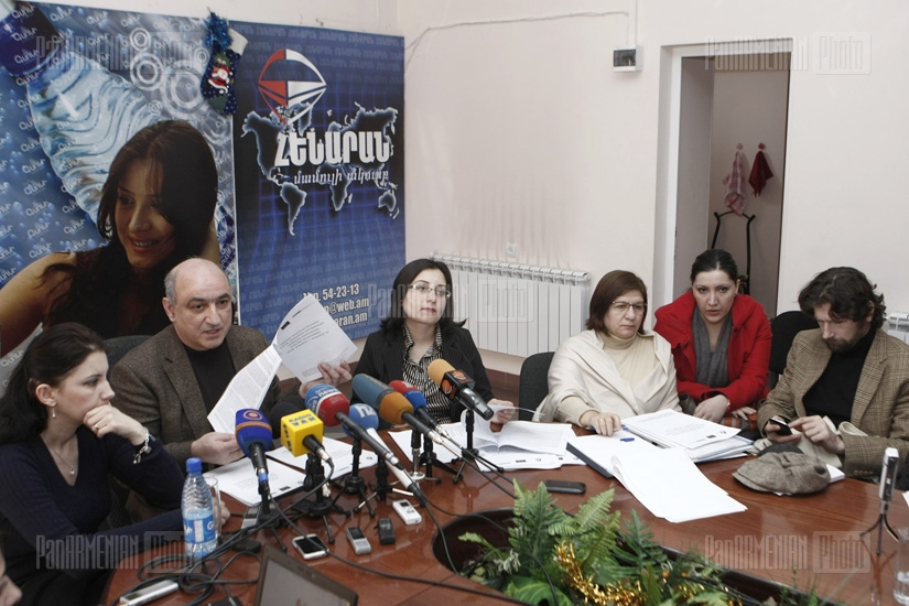 Press conference of Boris Navasardyan