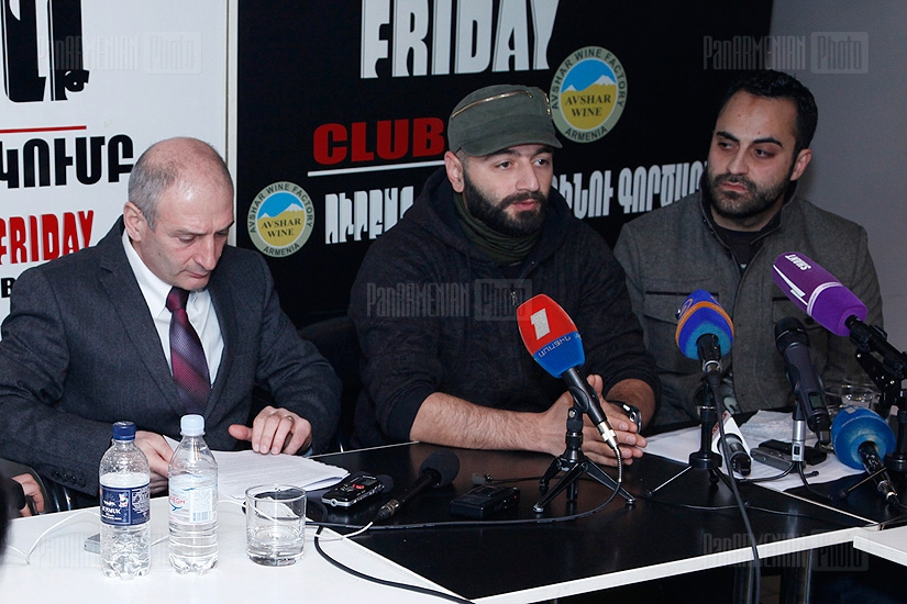 Press conference of Members of the Pan-Armenian Environmental Front