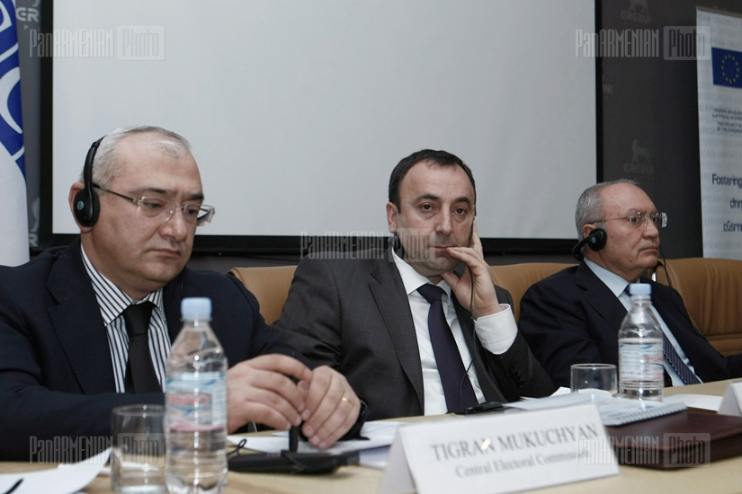 3-day training on election fraud prevention organized for Armenian law enforcement bodies