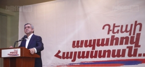 RA President's candidate Serzh Sargsyan's meeting with Noyemberyan residents