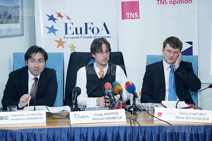 Press conference of EuFoA NGO