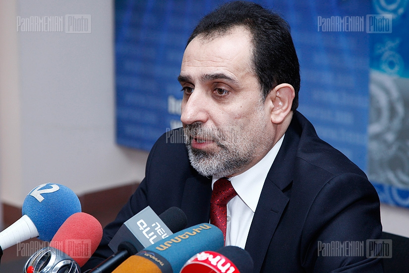Press conference of RA presidential candidate Aram Harutyunyan