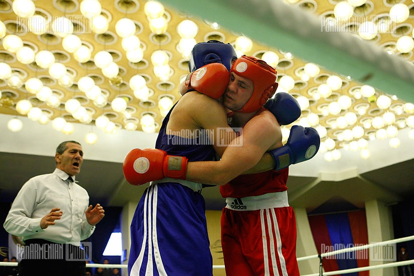 Armenian boxing championship final