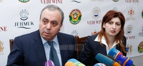 Press conference of RA presidential candidate Hrant Bagratyan