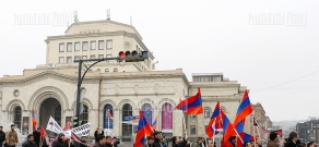 March protesting violence against Armenians in Turkey
