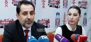 Press conference of RA presidential candidate Aram Harutyunyan