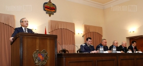 Meeting board in Prosecutor General's Office