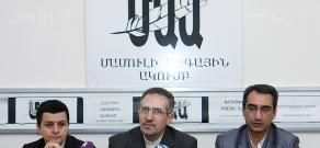 Press conference of Ambassador of the Islamic Republic of Iran to Armenia Mohammad Reisi