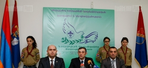 Ceremony of signing of a tripartite agreement aimed at enhancing needy children's social integration