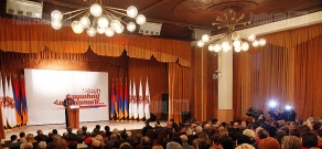 RA Presidential candidate Serzh Sargsyan visits Nor Nork administrative district
