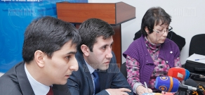 Discussion of activities carried out by a special working group on organization of international campaign against extradition and pardoning of Ramil Safarov