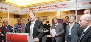 CTS 2013 annual tourism exhibition  launches in Yerevan
