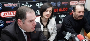Press conference of RPA faction secretary Hovhannes Sahakyan and Chairman of