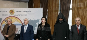 "Summing up and presentation of Diplomas  ""For notable contribution to the preservation of the Armenian identity"" award"
