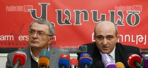 Press conference of RA chief infectionist Ara Asoyan  and Artavazd Vanyan