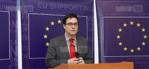 Press conference on Armenia's 2012 report about ENP implementation