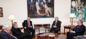 RA Minister of Foreign Affairs Edward Nalbandyan received the Co-Chairs of the OSCE Minsk Group