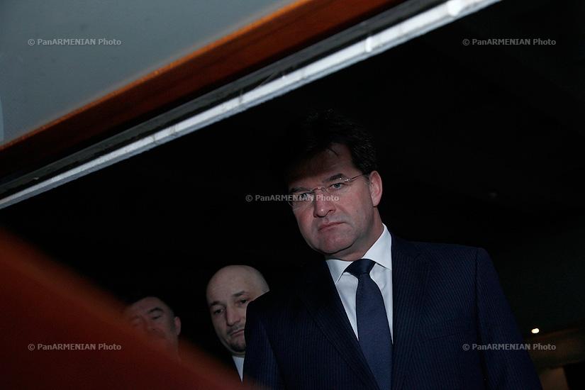 Սլովակիայի Հանրապետության փոխվարչապետ, արտաքին և եվրոպական գործերով նախարար Միրոսլավ Լայչակն այցելեց Ծիծեռնակաբերդ