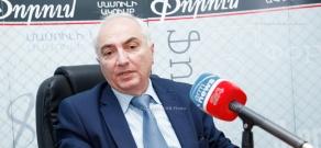 Press conference of Aram G. Sargsyan
