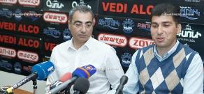 Press conference of Arthur Ispirian and David Sanasaryan