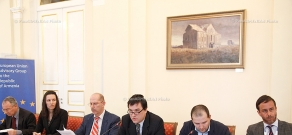 In RA Presidential Palace took place meeting of EU Advisory Group