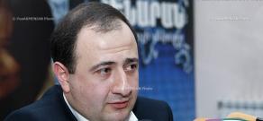 Press conference of turkologist Ruben Melkonyan