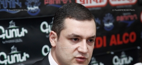"""Press conference of Tigran Urikhanyan, deputy from the """"Prosperous Armenia"""" party"""