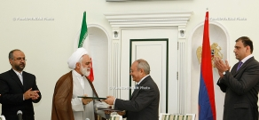 Prosecutors General of RA and Islamic Republic of Iran sign Memorandum of Cooperation