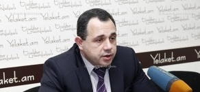 Press conference of Vahagn Hovhannisyan, Head of Business Education Programs at the Chamber of Commerce and Industry of Armenia