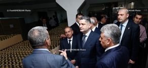 RA Prime Minister Tigran Sargsyan visited  Wine-Brandy House
