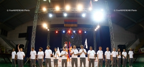 In Dinamo sports hall the first Armenian transplant games held with participation of Armenian people with transplanted organs