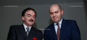 Polish Ambassador to Armenia Zdzisław Raczyński and Armenian Minister of Education Armen Ashotyan opened the Center of Polish language in Yerevan State Linguistic University after V. Brusov