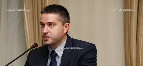 First press conference of ArmenTel's CEO Andrey Pyatakhin