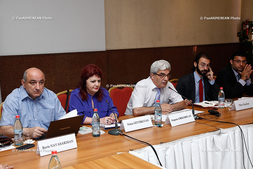 Conference titled The Geopolitics of the Southern Caucasus and the Armenian-Turkish relations