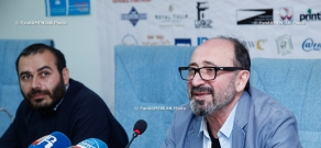 Press conference of Golden Apricot Yerevan International Film Festival before the opening of the festival