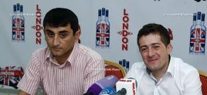 Press conference of Vrezh Kirakosyan, Armenia's representative at the International Pop Song Performers Contest