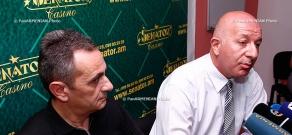 Press conference of Vardan Panosyan and Tigran Hovhannisyan