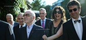 Opening of Charles Aznavour's star takes place on Charles Aznavour Square in Yerevan