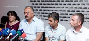Press conference of Sedrak Mamulyan, Gevorg Mkrtchyan, Svetlana Poghosyan and Vardan Hakobyan