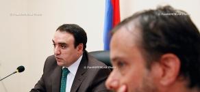The intergovernmental session of the EU-Armenia