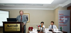 Press conference on Swiss Cooperation Strategy in South Caucasus 2013–2016