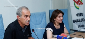 Press conference on the activities of the charity fund