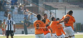 The first match of the Champions League second qualifying round between Armenia's Shirak FC and Partizan