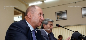 Press conference on the issues related to changes in the price of public transport in Yerevan