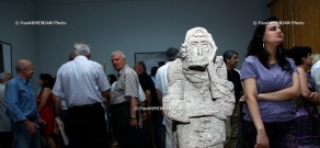 The exhibition dedicated to the 90th birth anniversary of People's Artist, sculptor Sargis Baghdasaryan