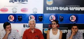Press conference of Sashur Kalashyan, Vigen Avetis and Ani Kochar